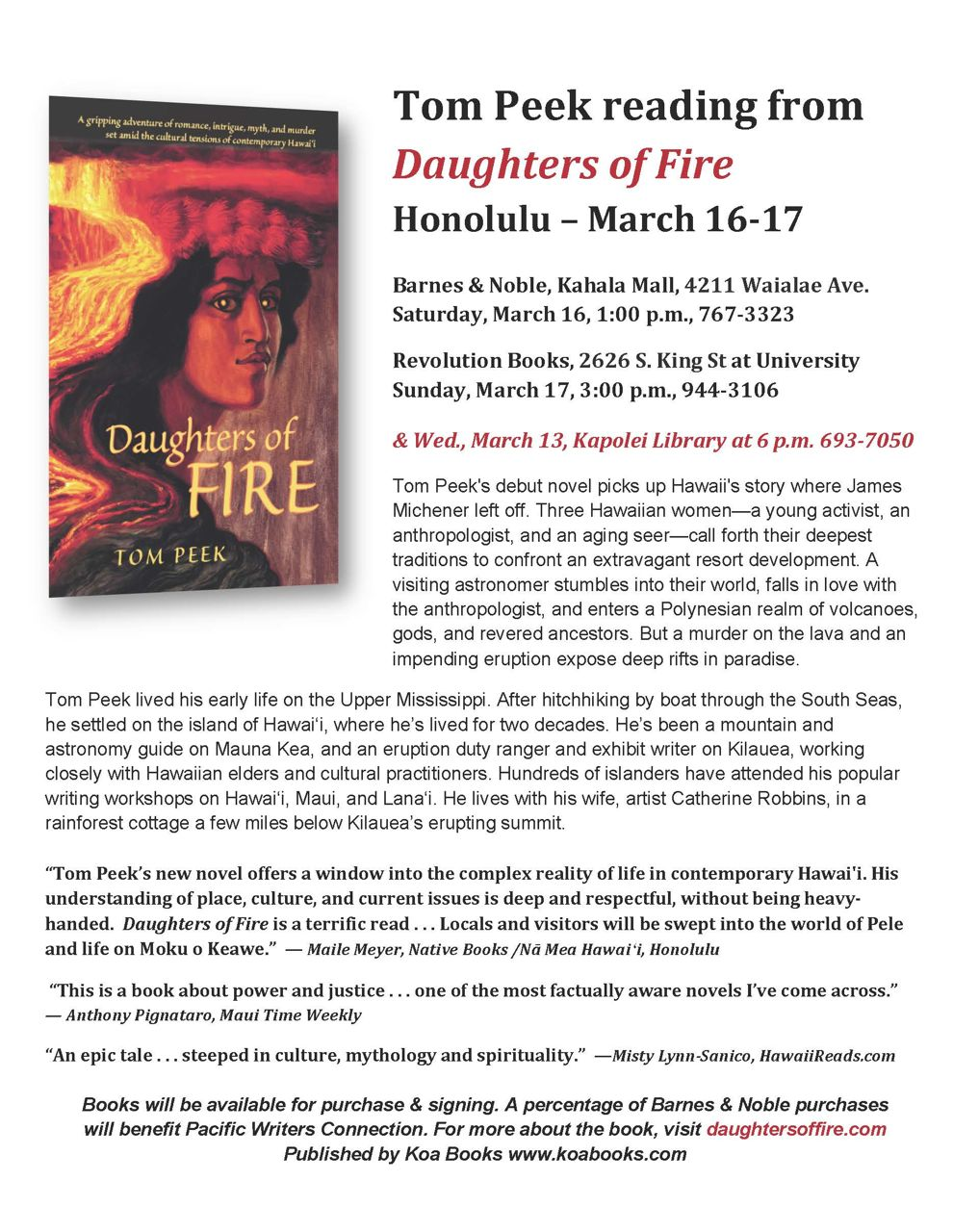 Daughters Of Fire Promo
